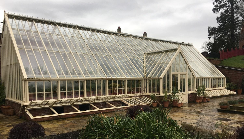 Dumfries House Alitex glasshouse Scotland