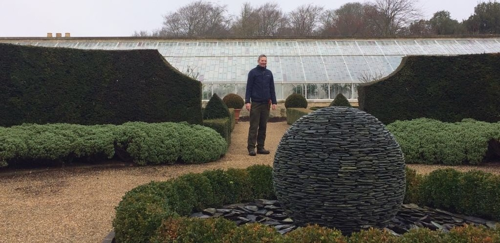 Head gardener Martin at Arundel
