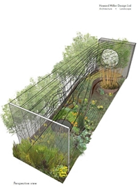 The Landscape Associates 'Dark Matter Garden' for National Schools Observatory
