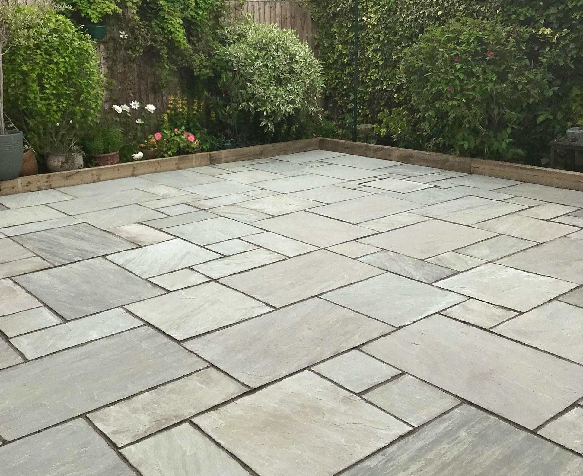 Open Up the Garden with New Paving