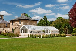 3/4 span bespoke conservatory at Bowcliffe Hall