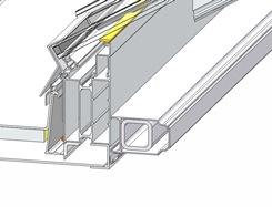 Steel beam detail