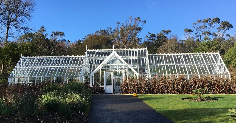 The Alitex Glasshouse at Logan Botanic Gardens