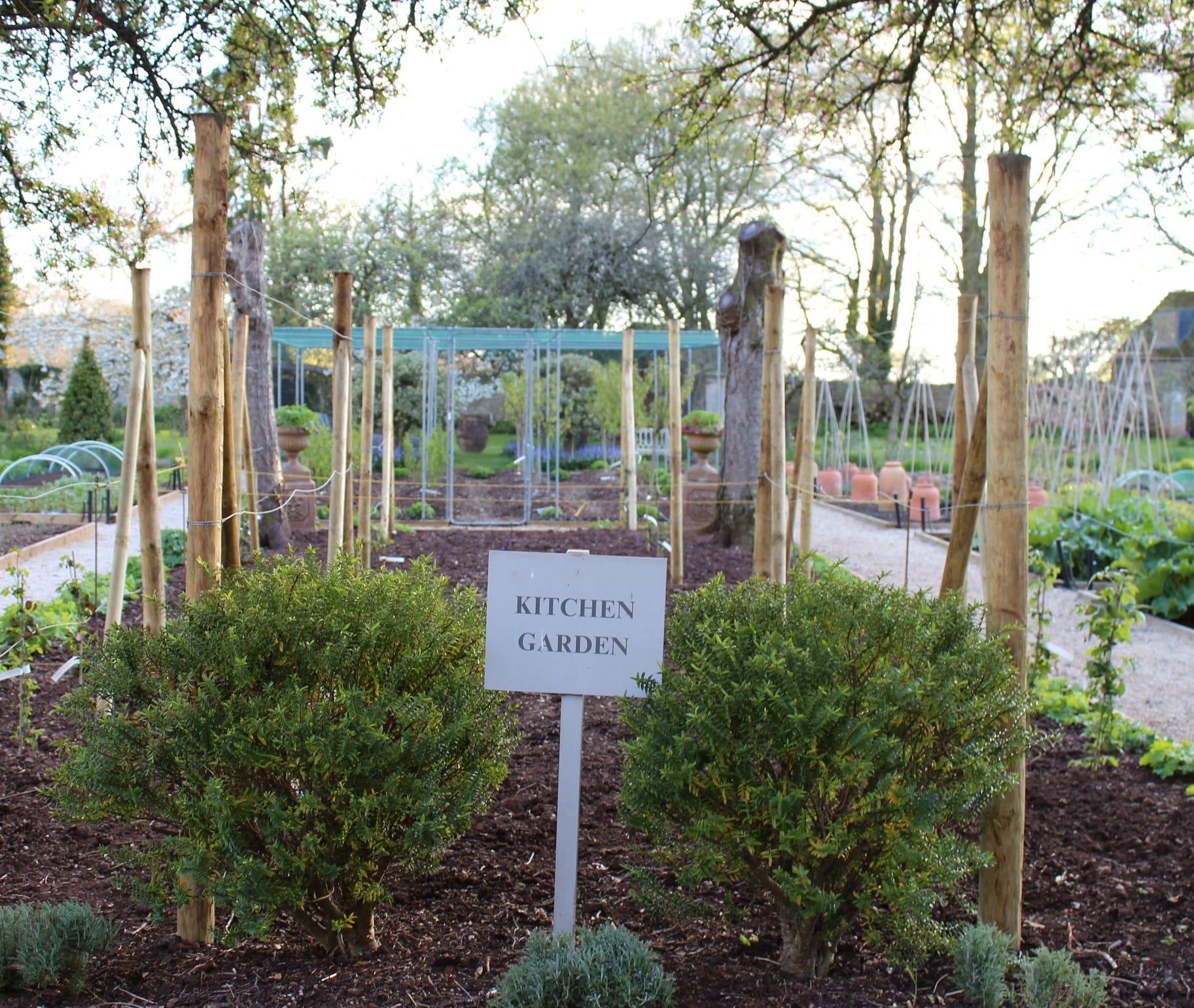 Kitchen Garden at The Pig near Bath