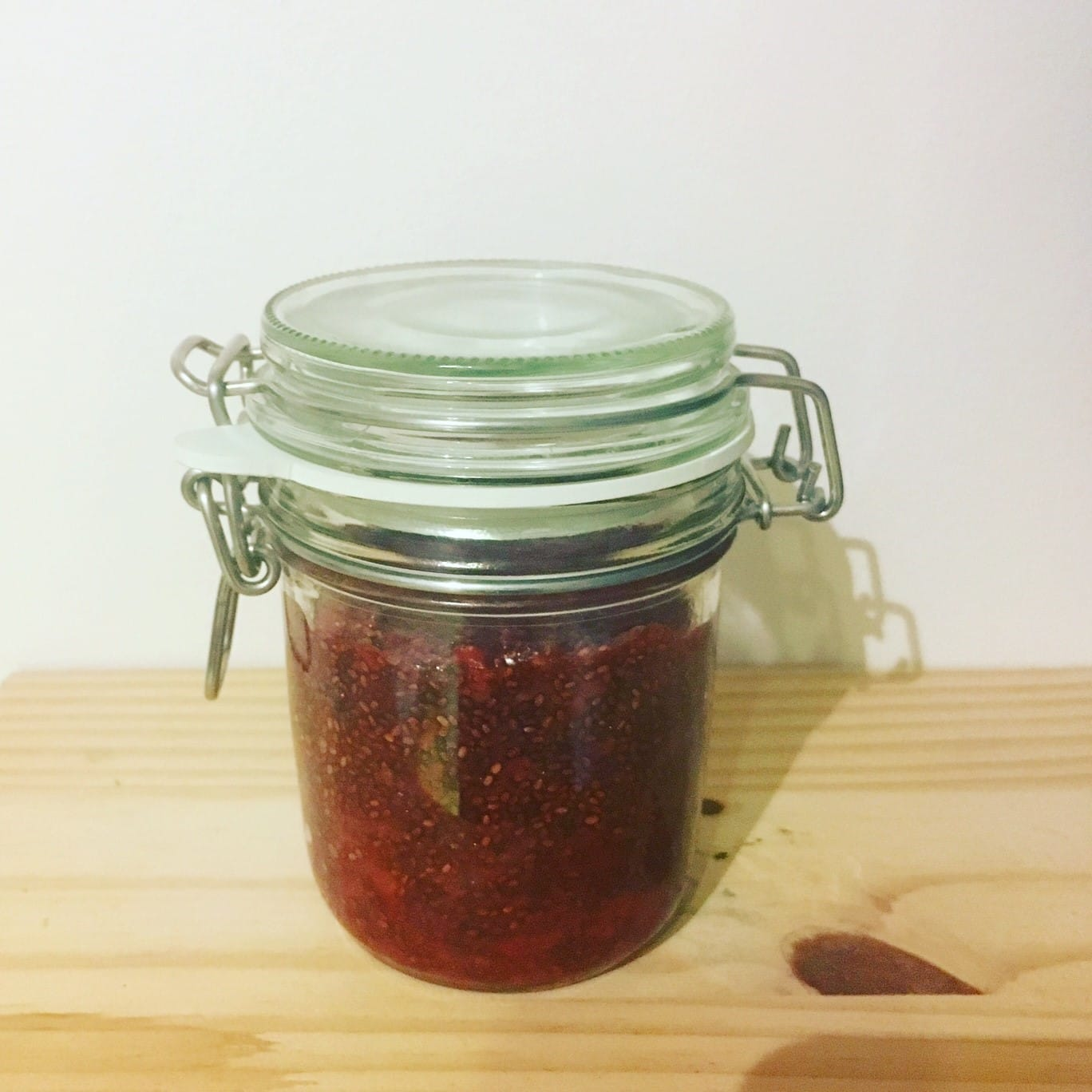 Jar of Strawberry Chia Jam