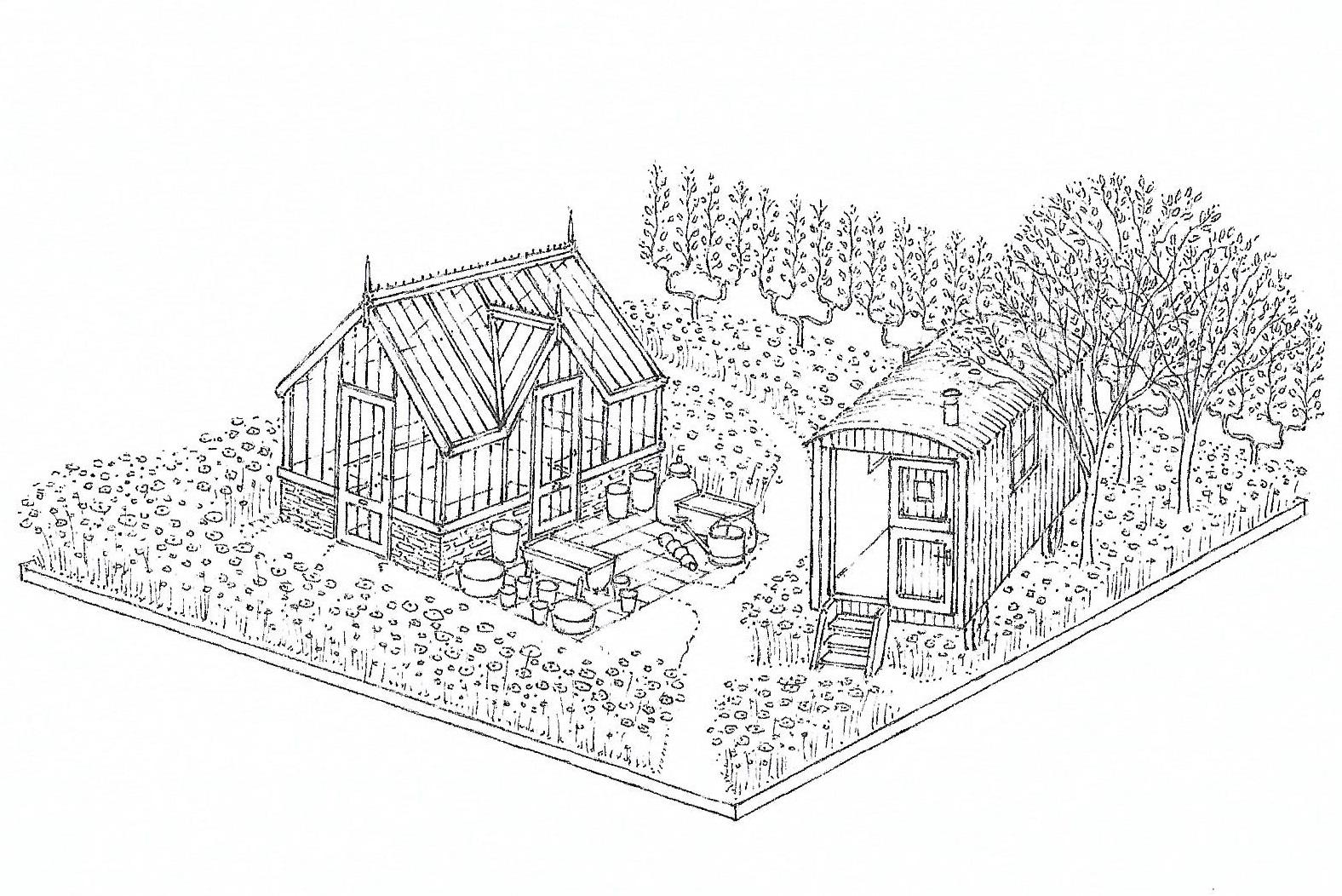 Mark Diacono Chelsea 2018 Show Garden Plans