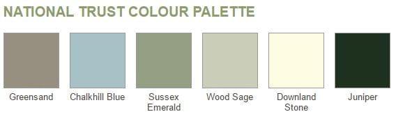 NT colour palette