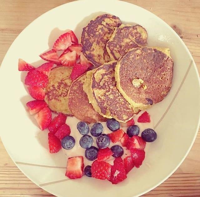 Gluten free, dairy free Pancakes