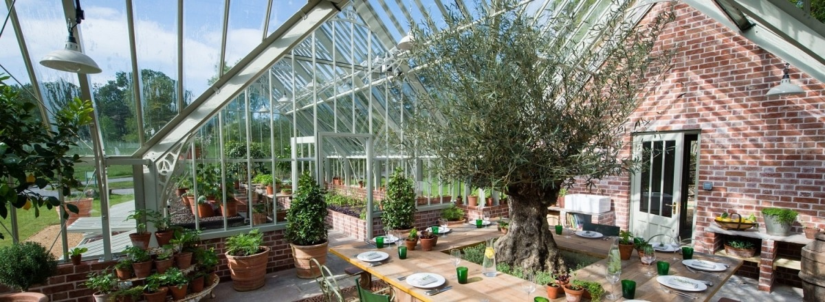 A new greenhouse for Lime Wood Hotel