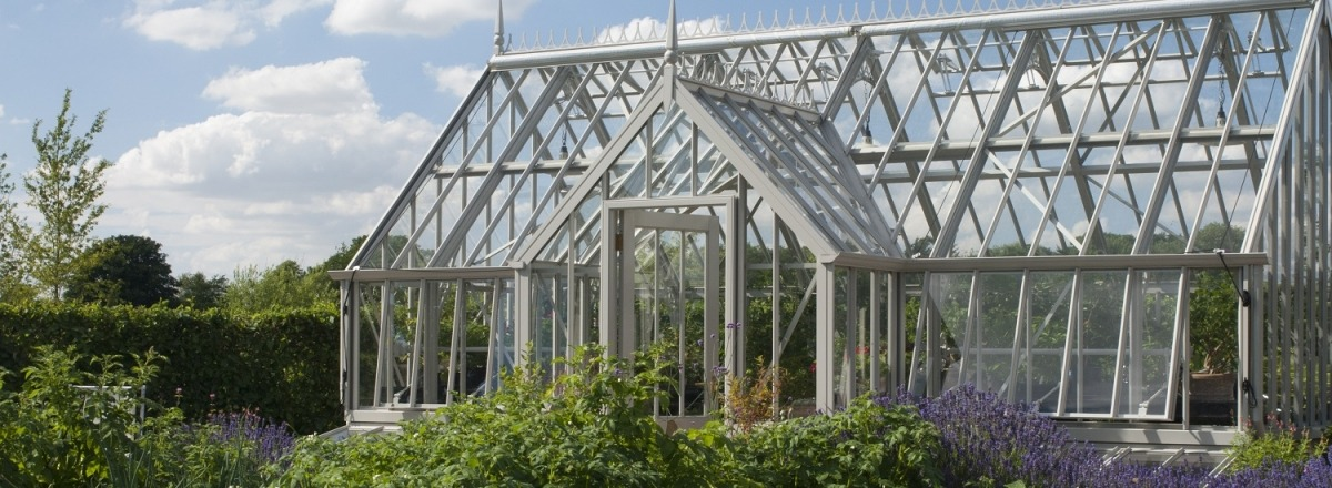 Cliveden greenhouse with bespoke colour match