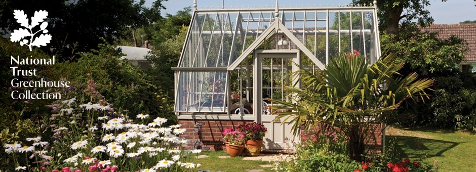 Mottisfont greenhouse exterior