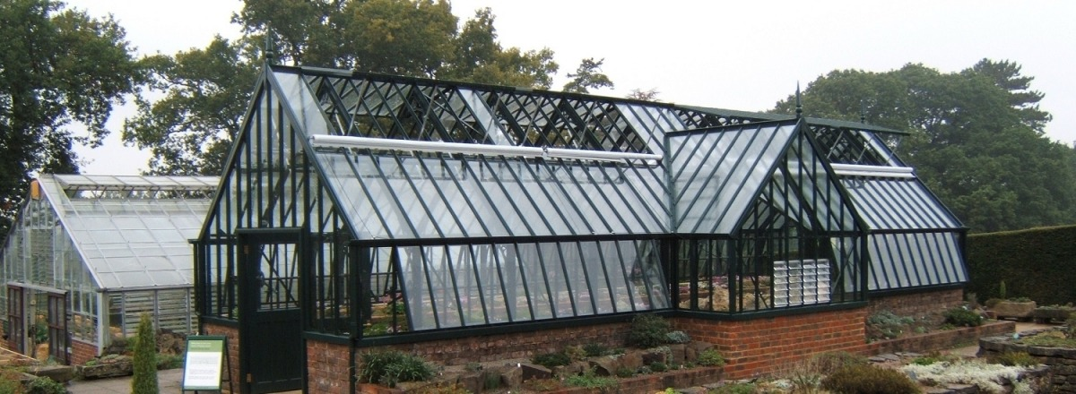 New Alpine Greenhouse at RHS Wisley
