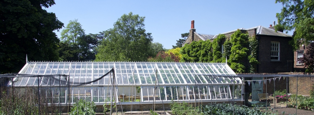 Replacement Greenhouse in the Director's Garden at Kew