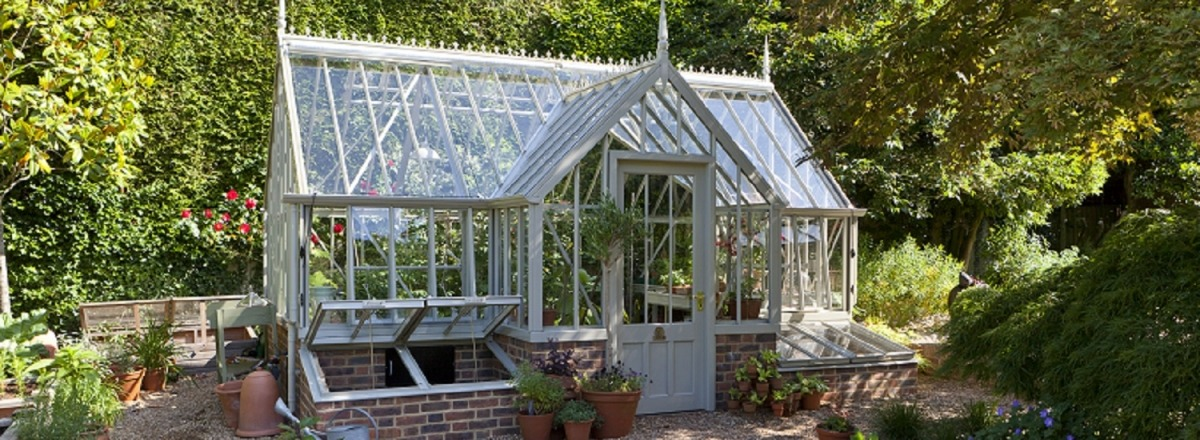 Tatton Greenhouse in Wood Sage