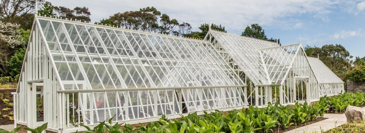 Traditional Greenhouse for Logan Botanic Gardens
