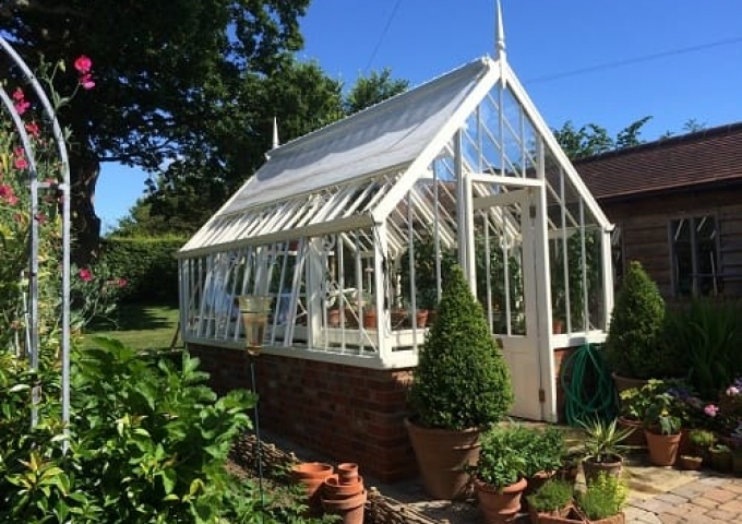 Scotney Greenhouse in West Sussex