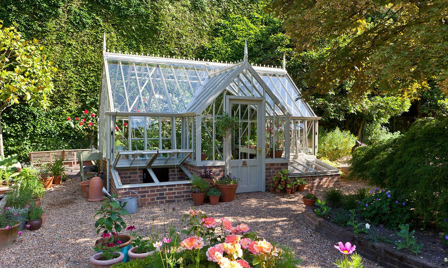 Tatton Greenhouse Project National Trust Case Study Alitex