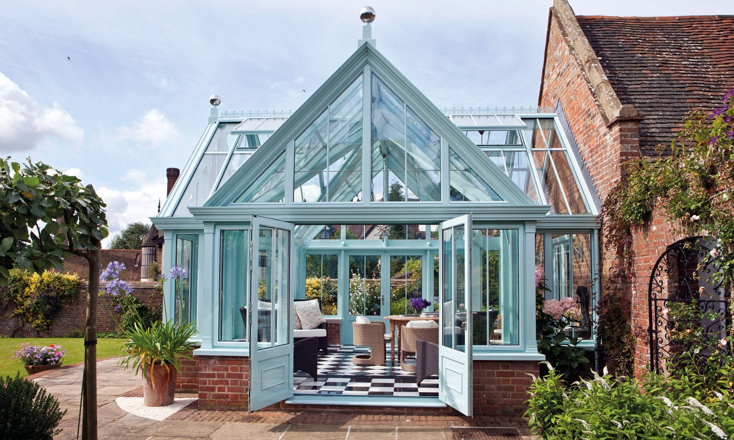 18th Century House Conservatory Case Study Alitex