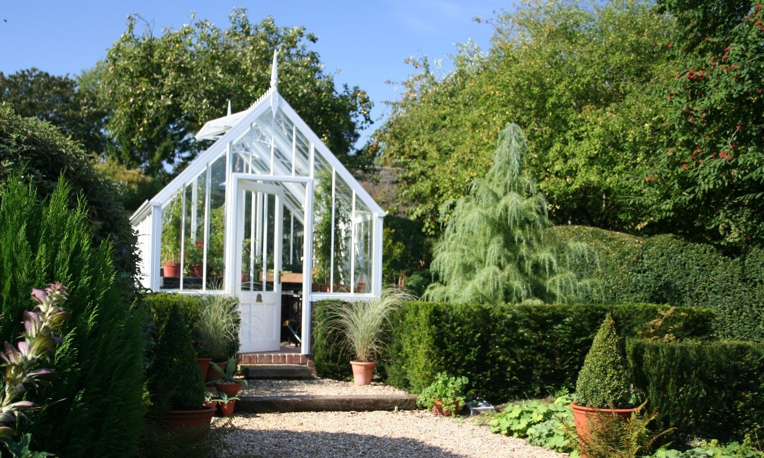 Hidcote Greenhouse | National Trust Case Study | Alitex