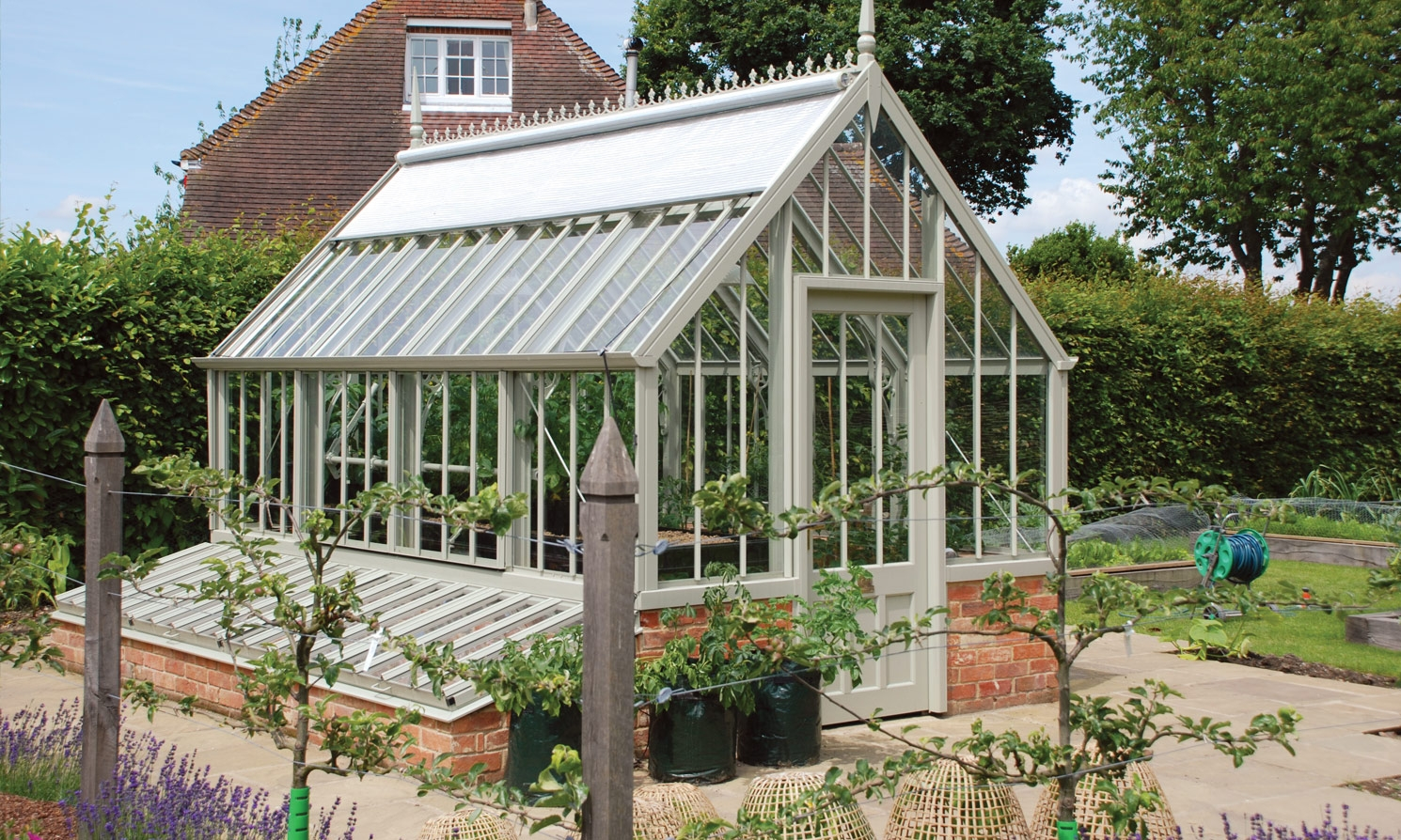 The Scotney National Trust Greenhouses Alitex