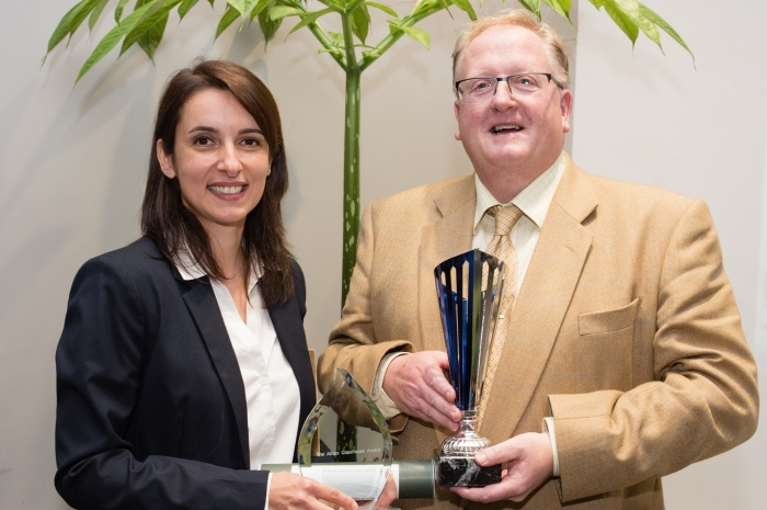 Andrea and Alan - Kew award