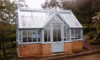 Bespoke freestanding Messenger greenhouse in Australia