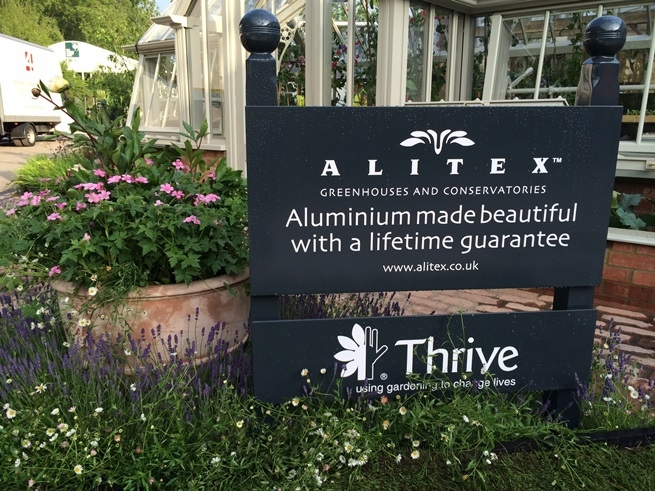 Alitex RHS Chelsea Flower Show stand from 2014