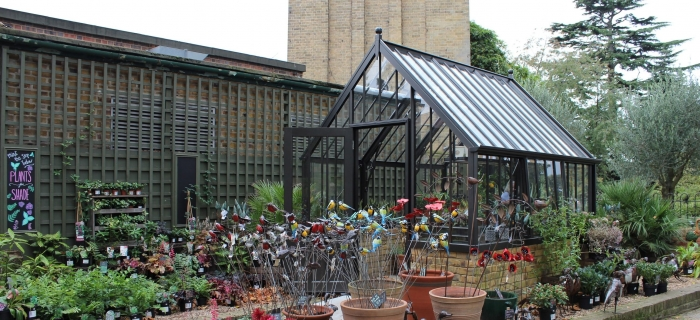 Alitex Have Recently Built A New Glasshouse At Royal Botanic Gardens, Kew.  The Kew Gardens Shop Team Were Looking For A Beautiful Display Area To  Present ...