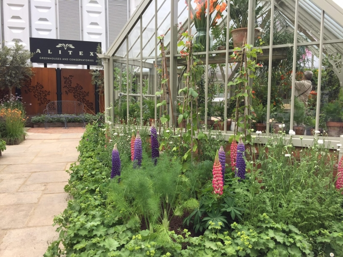 Alitex Stand Planting Chelsea Flower Show 2017