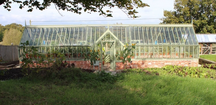 The Pig Hotel in the Forest, greenhouse