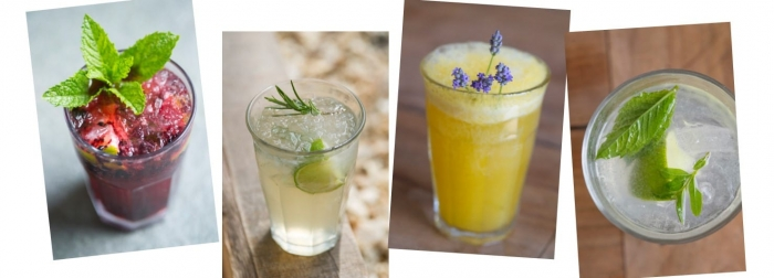 Mark Diacono's Garden Cocktails