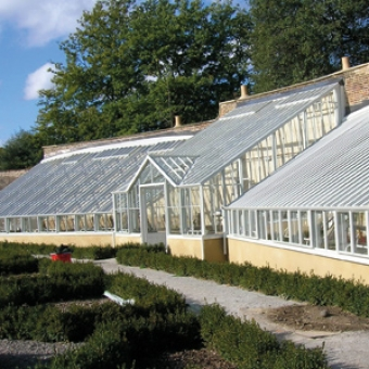 Historic greenhouse replacement at Fulham Palace