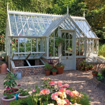 A greenhouse from our National Trust collection