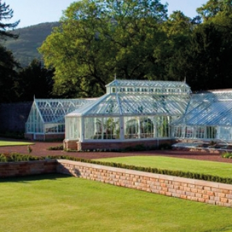 Greenhouse replacement at Loch Lomond Golf club in Scotland