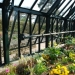 The inside of Alpine House at Wisley, made by Alitex