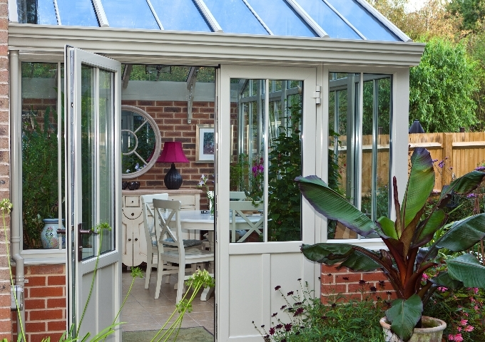 Alitex typical aluminium conservatory