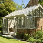 Bespoke conservatory with endless swimming pool