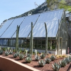 Glasshouse at Gibraltar Botanic Gardens